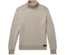 Reversible Cashmere Rollneck Sweater