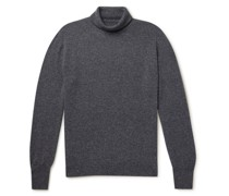 Oxton Mélange Cashmere Rollneck Sweater