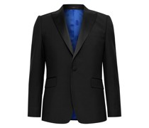 Soho Slim-Fit Satin-Trimmed Wool and Mohair-Blend Tuxedo Jacket