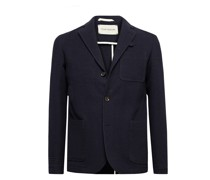 Solms Wool and Cotton-Blend Jacquard Blazer