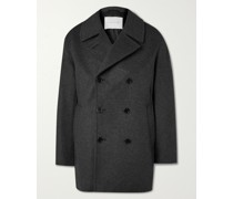 Dalton Wool and Cashmere-Blend Peacoat