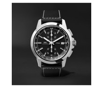 Ingenieur Sport Automatic Chronograph 44mm Titanium and Leather Watch, Ref. No. IW380901