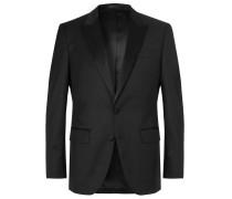 Black Halwood Slim-Fit Super 120s Virgin Wool Tuxedo Jacket
