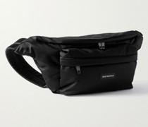 Oversized Nylon Belt Bag