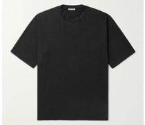 Stretch-Linen Jersey T-Shirt