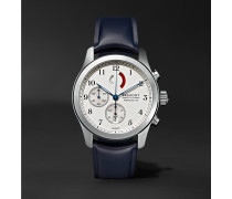 America's Cup Regatta Chronograph 43mm Stainless Steel and Rubber Watch, Ref. No. AC-R/SS
