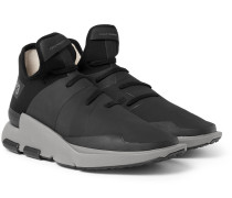 Noci Rubberised-neoprene Sneakers