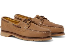 Downeast Full-Grain Leather Boat Shoes