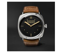 Radiomir S.L.C. 3 Days Acciaio Hand-Wound 47mm Steel and Leather Watch, Ref. No. PAM00425
