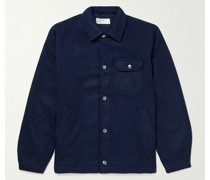 Mowbray Wool-Blend Felt Blouson Jacket