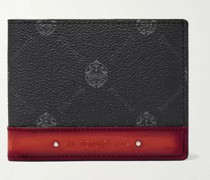 Excursion Signature Logo-Print Canvas and Leather Billfold Wallet