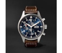 IW377714 Pilot's Le Petit Prince Edition Automatic Chronograph 43mm Stainless Steel and Leather Watch, Ref. No. IW377714