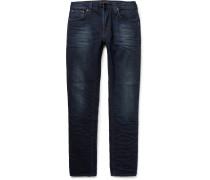 Lean Dean Slim-fit Washed Organic Stretch-denim Jeans