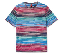 Space-dyed Cotton-jersey T-shirt