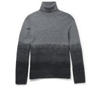 Slim-fit Dégradé Wool Rollneck Sweater
