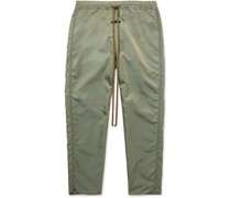 Iridescent Twill Track Pants