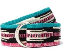 4cm Knitted Cotton Belt