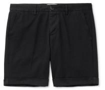 Cotton-Twill Bermuda Shorts
