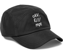 Embroidered Washed-twill Cap