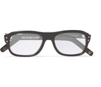 + Cutler And Gross Eggsy's Square-frame Acetate Optical Glasses