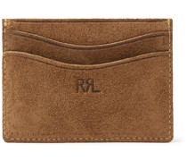 Roughout Leather Cardholder
