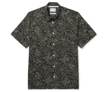 Oscar Printed Cotton Shirt
