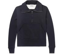 Fuller Loopback Cotton-jersey Half-zip Sweatshirt
