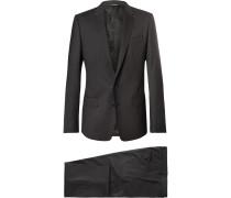 Grey Martini Slim-fit Virgin Wool-blend Suit