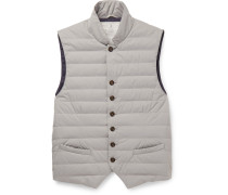 Water-resistant Shell Down Gilet