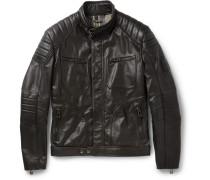 Weybridge Waxed-leather Jacket
