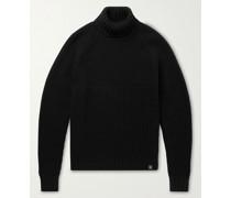 Marine Wool Rollneck Sweater