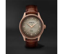 Heritage Automatic 40mm 18-Karat Rose Gold and Alligator Watch, Ref. No. 119946