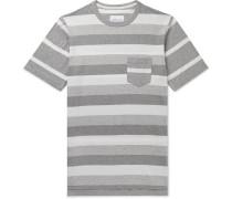 Whelan Striped Cotton-Jersey T-Shirt