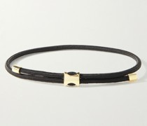 Orson Pull Cord and Gold Bracelet