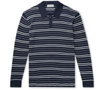 Meadow Slim-Fit Striped Cotton Polo Shirt