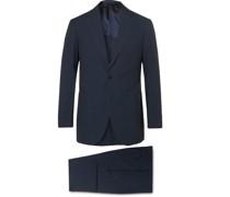Unstructured Cotton-Seersucker Suit