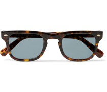 Kavell Square-Frame Tortoiseshell Acetate Sunglasses