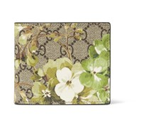 Printed Coated Canvas Billfold Wallet