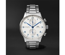 Portugieser Chronograph 41mm Stainless Steel Watch, Ref. No. IW371617
