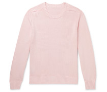 Slim-Fit Cotton Sweater