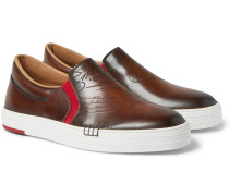 Scritto Palermo Leather Slip-on Sneakers