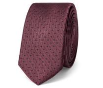 4.5cm Polka-dot Silk Tie