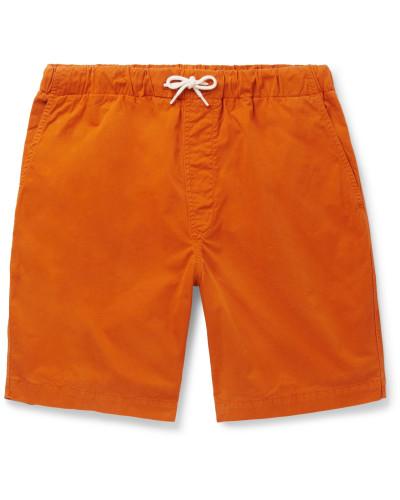 Shoreway Cotton-Twill Drawstring Shorts