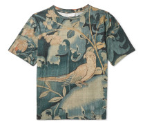 Hague Slim-fit Printed Cotton-jersey T-shirt