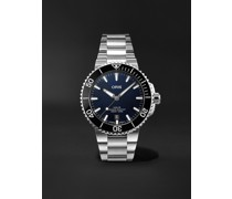 Aquis Date Automatic 41.5mm Stainless Steel Watch, Ref. No. 01 733 7766 4135-07 8 22 05PEB