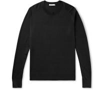 Scott Silk and Cotton-Blend Sweater