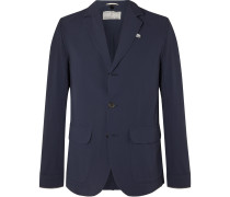 Brompton Reflective-Trimmed Shell Cycling Blazer