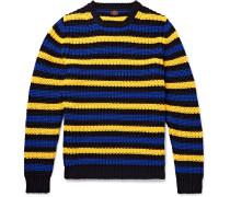 Hirst Slim-fit Striped Cotton Sweater