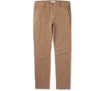 Karl Slim-fit Stretch-cotton Corduroy Trousers