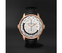 1966 WW.TC Automatic 40mm 18-Karat Rose Gold and Alligator Watch, Ref. No. 49557-52-131-BB6C